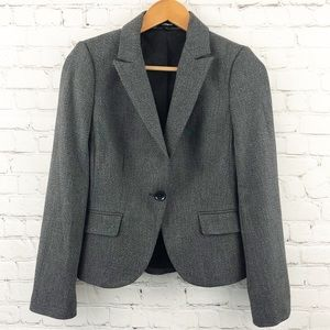 Express grey blazer fitted NWOT